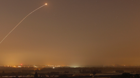 Israel fires volley of Iron Dome defensive missiles after false alarm over gunfire in Gaza (VIDEO)