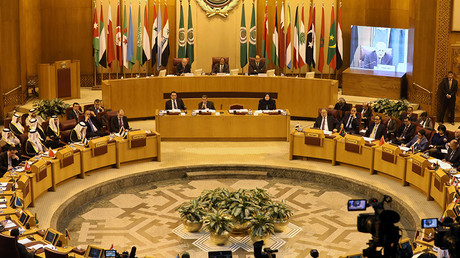 Arab League foreign ministers hold an emergency meeting in Cairo, Egypt December 9, 2017 © Mohamed Abd El Ghany