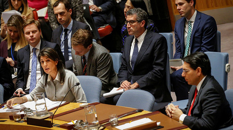 US won't be lectured by countries that lack any credibility over Israel & Palestine – Haley to UNSC