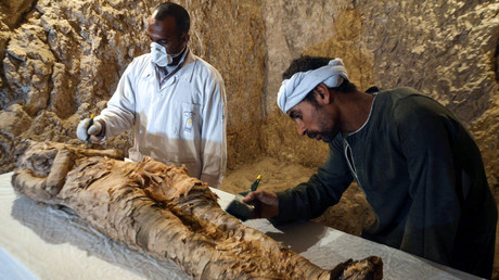 Fertility secrets of the Pharaohs: 4,400-year-old tomb discovered in Egypt (VIDEO)