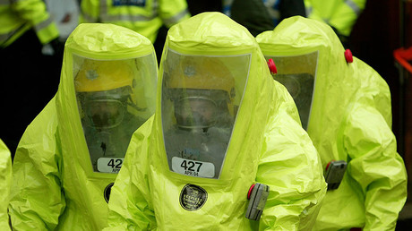 Emergency chemical attack drill carried out in Israel's London embassy