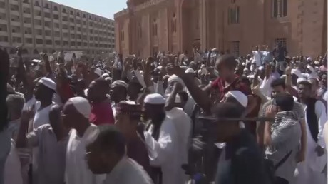 Hundreds march on UN office in Sudan to protest Jerusalem decision