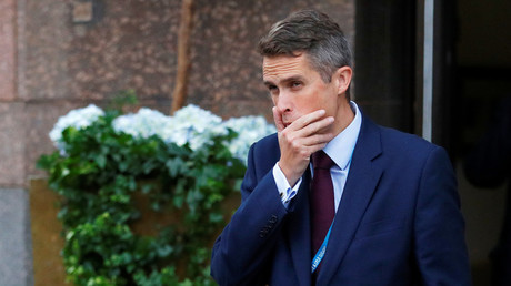 Gavin Williamson is going cap in hand to Philip Hammond after defense fall out