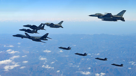 'US-Japan-S.Korea military exercises fuel flames of already existing conflict'