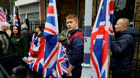 Snowflakes defeat Britain First! Weather forces Jayda Fransen & Paul Golding to cancel rally