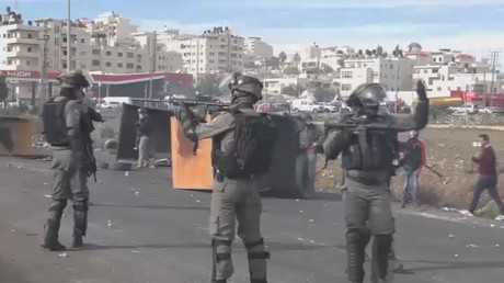 West Bank clashes: 6 injured as IDF disperse protesters