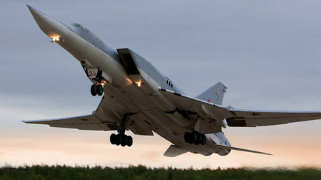Get out of the way: Russian warplanes land on highway as part of tactical drill (VIDEO)