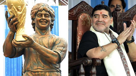 'Looks like Susan Boyle' - Maradona statue 'likeness' panned by football fans