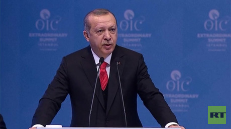 Erdogan urges world to recognize E. Jerusalem as Palestinian capital