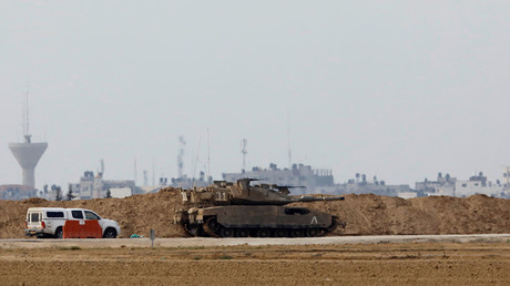 Israeli military say they intercepted 2 rockets launched from Gaza Strip