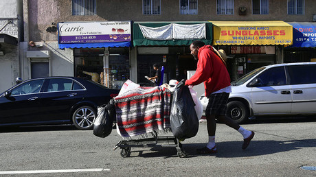 Shocking Dickens-style Christmas tour of LA's Skid Row (VIDEO)