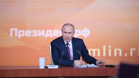 Putin's end-of-year Q&A