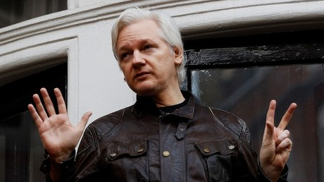Assange's handle re-emerges after 'Twitter oddities' & weird US Navy post