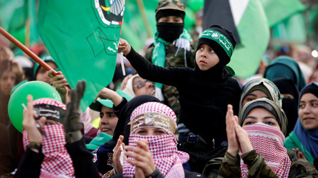 Hamas celebrates 30 years, vows to reverse Trump's Jerusalem decision at all costs (PHOTOS)