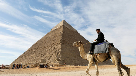 Will robotic blimp give up secrets to Great Pyramid of Giza?
