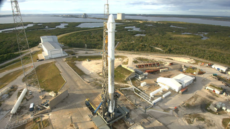 Trailblazer: SpaceX sends recycled rocket to dock with ISS in world first