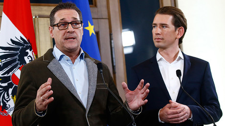 Far-right Freedom Party enters Austrian govt as anti-migrant sentiment creeps west
