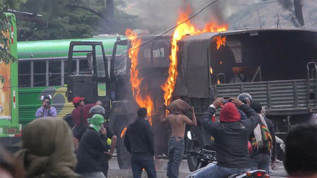 Dozens injured in clashes over election result in Honduras