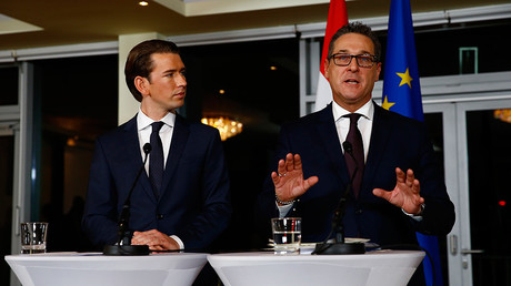 Austria's Freedom Party, fresh to government, vows to fight anti-Russian sanctions