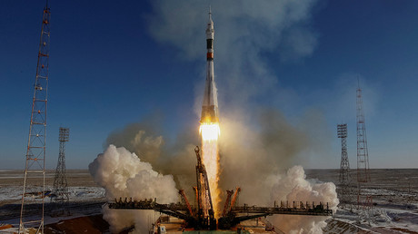 ISS expedition 54/55 launches from Baikonur