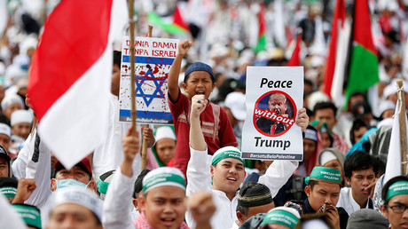 80,000 protest Trump's Jerusalem recognition in Indonesia (VIDEO)
