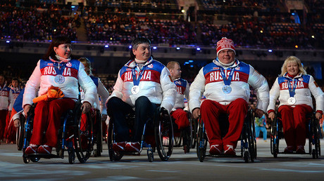 Intl Paralympic Committee maintains suspension of Russia's membership