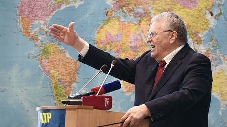 Nationalist leader Zhirinovsky becomes 1st official candidate in Russian presidential race