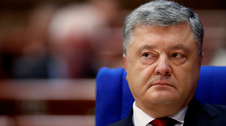 FILE PHOTO: Ukraine's President Petro Poroshenko.  © Christian Hartmann