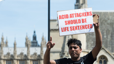 Top UK retailers volunteer for govt plan to stop 'scourge' of acid attacks