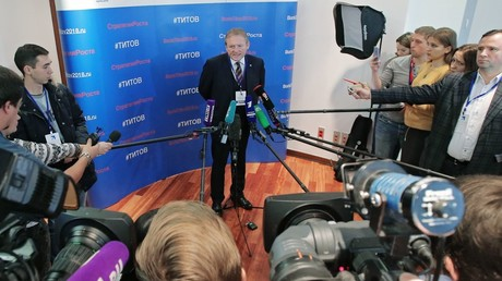 Nationalist party leader Zhirinovsky becomes 1st candidate in 2018 presidential race