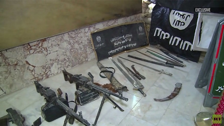Swords, bombs & drones: RT visits 'museum' of ISIS trophies, cemetery of Iraq liberators (VIDEO)