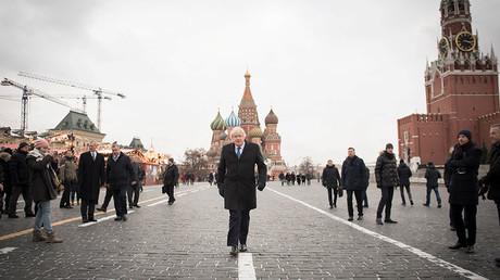 'Neocon emissary Boris Johnson embarrassed Britain on Moscow visit'