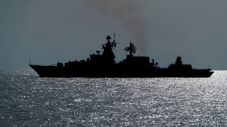 FILE PHOTO: A Russian Navy ship in the Mediterranean © Ministry of Defence of the Russian Federation
