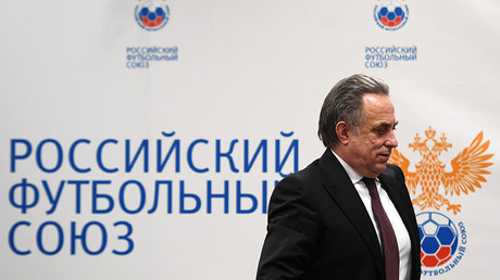 FIFA thanks Mutko for stepping down as head of Russian Football Union