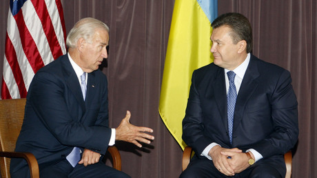 Biden told ex-Ukraine President Yanukovich to resign, former VP reveals in memoirs