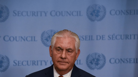 Tillerson 'listening' but won't deviate from 'big stick' strategy with N. Korea