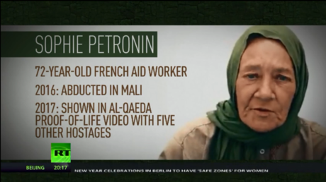 'Government made no progress': Son of 72yo French aid worker held hostage by al-Qaeda to RT (VIDEO)