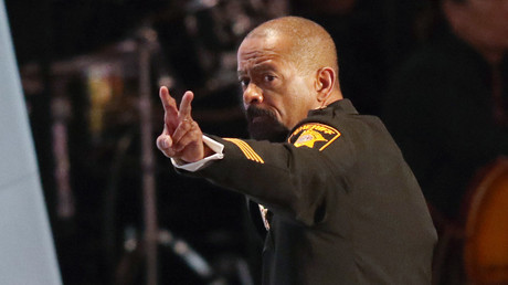 Former Milwaukee County Sheriff David Clarke pulled no punches when lashing out at his critics online. © Aaron Josefczyk