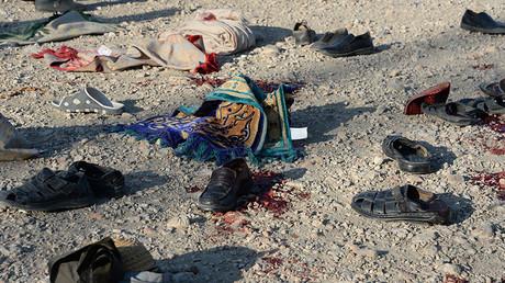 Suicide blast at funeral site in Afghanistan kills 15
