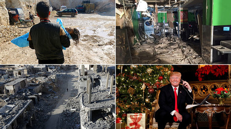 ISIS defeat, Jerusalem & bribes: Biggest geopolitical upheavals of 2017