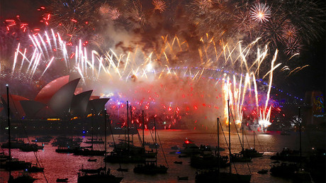Sydney rings in 2018 with dazzling fireworks display