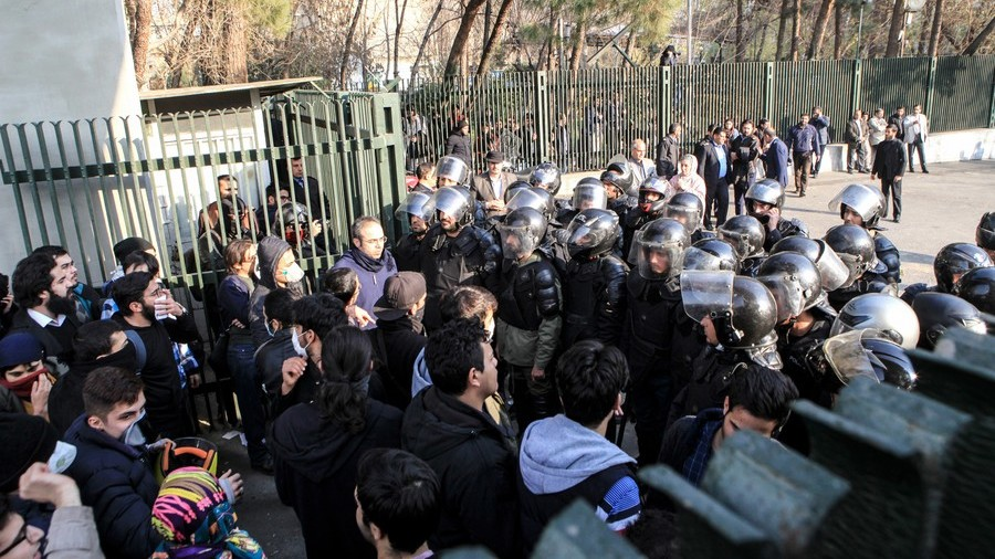 Israeli intel minister wishes Iranian rioters 'success' as violent unrest grips country