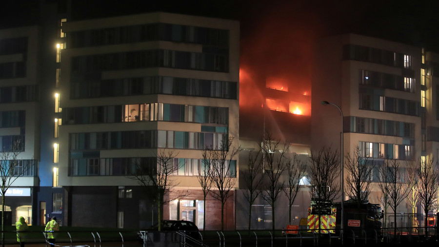 'Ferocious' fire destroys 1,400 vehicles in Liverpool multi-story car park (VIDEOS, PHOTOS)