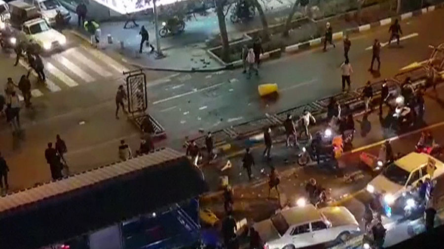 Police officer killed, 3 wounded at hands of 'rioter' during rallies in Iran – state media