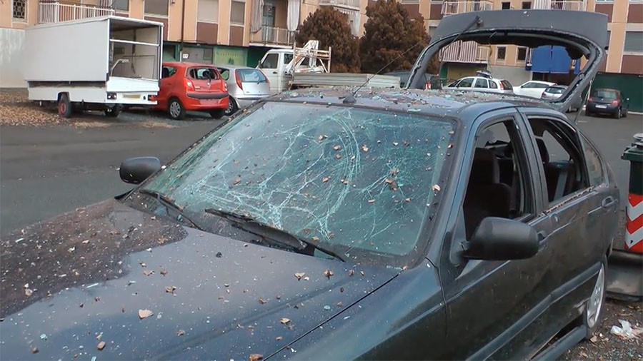 Italian police find 12 homemade explosive devices after blasts in Turin injure 4 people
