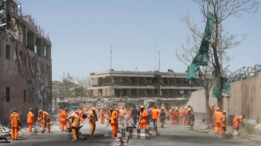 British embassy in Kabul will move to high-security zone amid Taliban resurgence