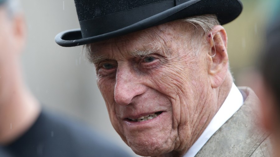 'Is that a terrorist?' Prince Philip 'jokes' about bearded man