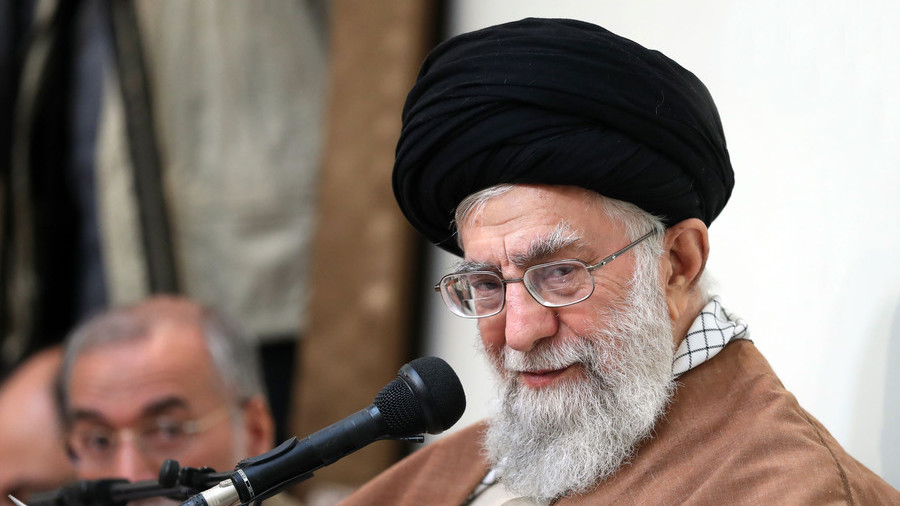 Iran's enemies 'using money & weapons to undermine government' – supreme leader Khamenei