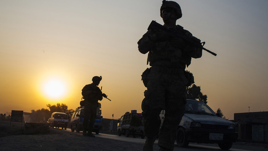 United States service member killed, four hurt in 'combat' in Afghanistan