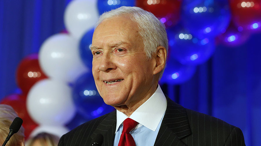 Senator Hatch announces retirement, prompting Romney run rumors